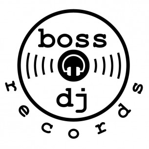 This is a logo I made for my record label. I like the headphones with the waves of music coming out. The waves double as stylized grooves on a record. Boss DJ only has two official releases under its belt but who knows what the future will bring.?